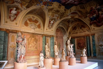 Sculpturel representation room in th Upper Belvedere Palace, Vienna, foto Henning Høholt