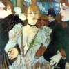 La Goulue arrives at Moulin Rouge.