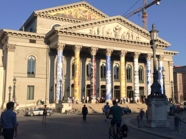 Bayerisches Staatsoper, München. foto Henning Høholt, 2015