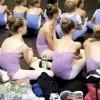 Elever på Den Kongelige Ballettskole. Foto Det Kongelige Teater, København