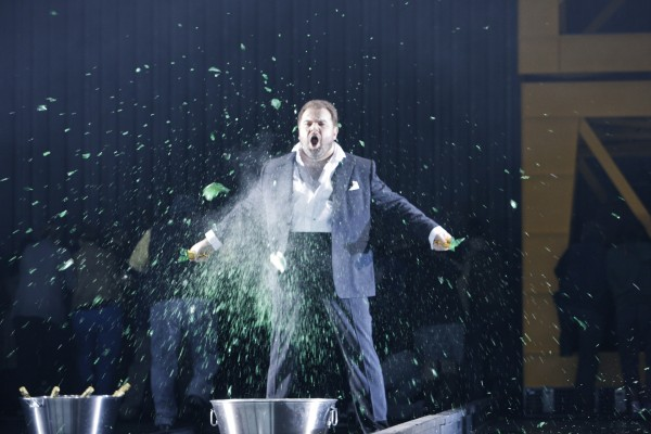 Kristian Benedikt, famouse opera tenor, with international success.