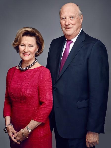 Deres Majesteter Kongen og Dronningen. Foto Jørgen Gomnæs, Det kongelige hoff