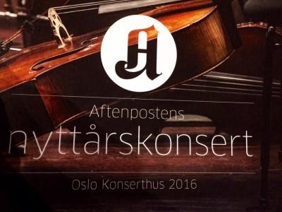 Aftenpostens Nyttårs konsert.