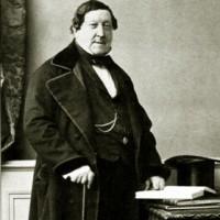 Giacchino Rossini, (1792-1868). Komponisten til Barberen i Sevilla, som skal glede publikum på Den Nasjonale Scene i Bergen under Festspilene i Bergen 2016.