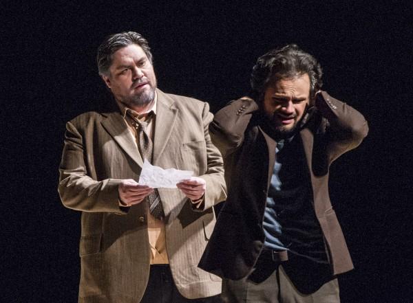 Yngve Søberg og og Atalla Ayan i La Traviata i Oslo, foto Erik Berg