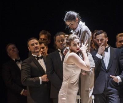 Aurelia Florian som Violeta Valery i La Traviata i Oslo, foto Erik Berg