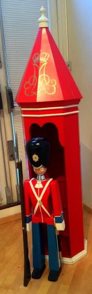 Gardist i Skilderhus, Foto Henning Høholt.