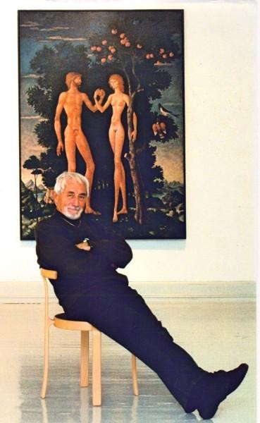 Gino Scarpa åpner utstilling i Interiørgalleriet på Briskeby fra 3  . Mars, hvor han presenterer både Malerier, Skulturer, Akvareller og Grafikk  .