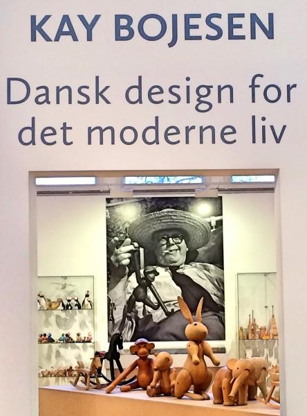 Kay Bojesen og hans omfattende og eventyrlige designverden presenteres nettopp nå i Drammens Museum. Foto Henning Høholt