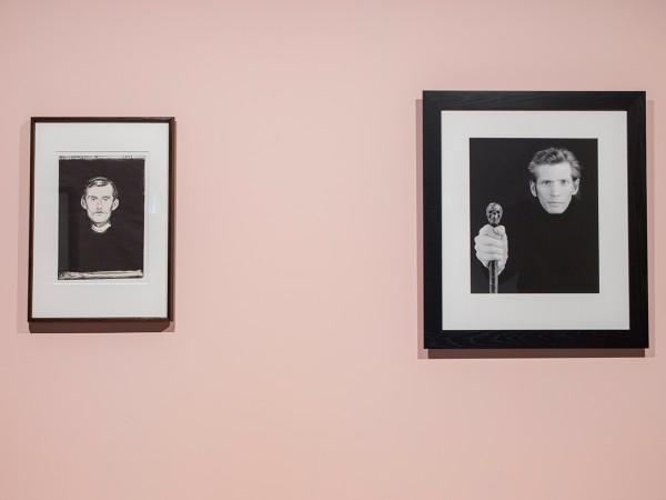 Mapplethorne og Munch, foto Munch Museet