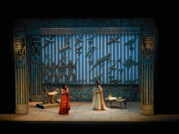 Aida,  2nd act 1st scene, photo: Teatro di Pisa