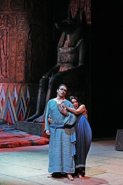Aida, CAIMI, D'ANNUNZIO LOMBARDI, photo. Massimo d'Amato