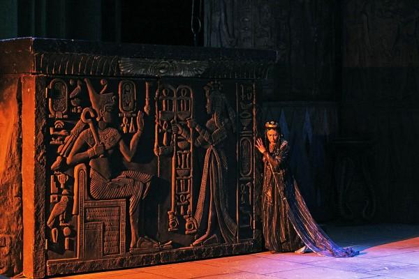 Aida in Zeffirellis staging in Pisa. CASOLLA, photo: Massimo d'Amato
