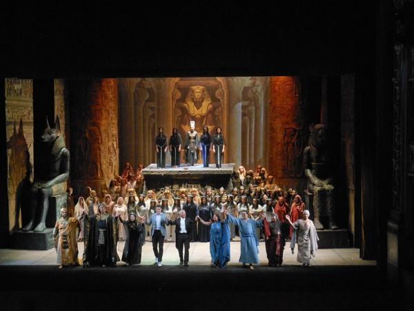 Aida, Curtain call, Photo Teatro di Pisa