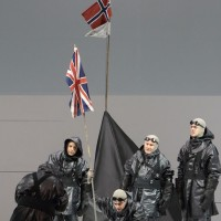 The explorer group of Robert Falcon Scott has reached the South Pole.