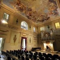 At Villa Scornio you also find a Concert hall.