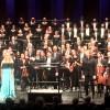 Kringkastingsorkestret, Operakoret, Solistene og dirigenten Eugene Tzigane i midten. Foto Tomas Bagackas.