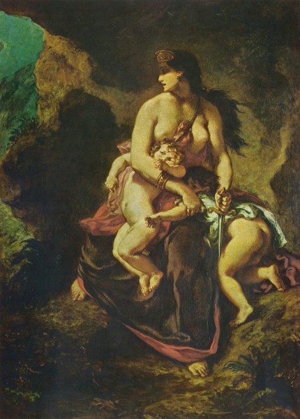 Old story: Medea by Delacroix. Photo: Wikipedia.