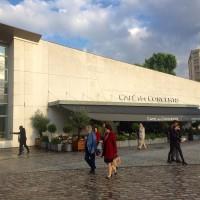 Cafe des Concerts situated by the new Philharmonie de Paris. Foto Henning Høholt