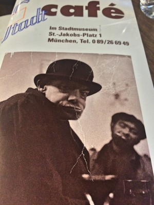 Stadt Museum Cafe Poster, foto Tomas Bagackas