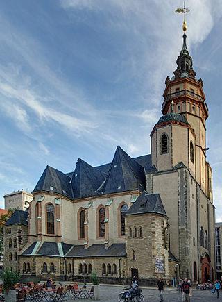 St. Nicolai Church, foto: Leipzig Tourist office.