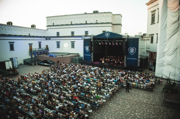 A big success for Midsummer Opera at the Yard of The Grand Duke Castle in Vilnius.