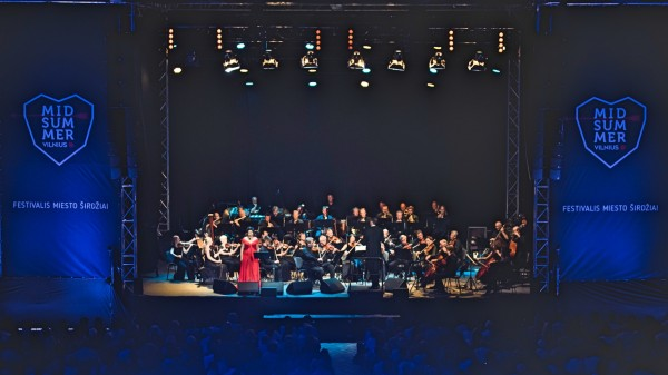 Midsummer Operette, Lilija Gubaldina in the second part with all the Lithuanian Chamber Orchestra and Modestas Pitrenas