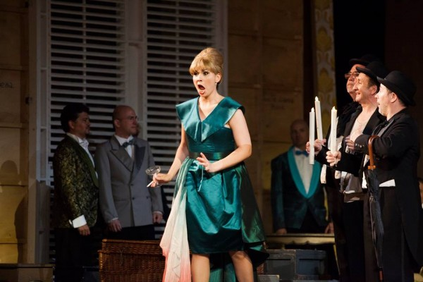 Flora in second act.