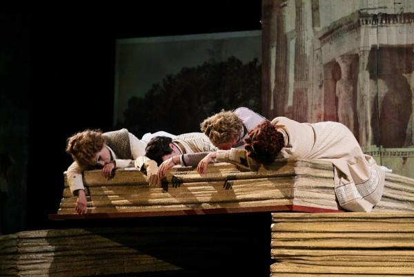 La Grotta di Triomfo will be performed in The Santa Carlo Opera in Napoli later.
