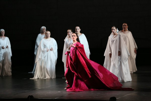 Leonor Bonilla as Francesca di Rimini by Mercadente in Valle d´Itria.