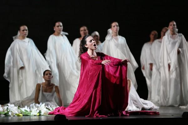as Francesca di Rimini by Mercadente in Valle d´Itria. Review by Bruno Tredicine.