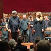 Birgitte Christensen and René Jacobs at Alceste. Between them concertmaster Rodolfo Richter. Foto Henning Høholt