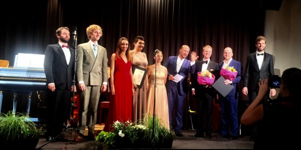 The Eight finalists in the Centi Competition in Innsbruck. Foto Henning Høholt