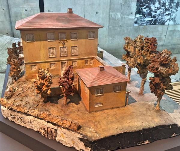 Villa Larsen, Plaster Model, Foto Henning Høholt