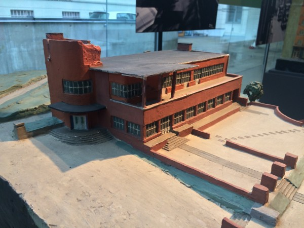 Ekeberg restauranten, plaster model. Foto Henning Høholt