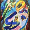 "Asger Jorn (1914-1973) is present with Too much talk - ""Man spright so viel"" from 1968, oil on canvas. Foto Tomas Bagackas"
