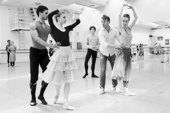 Forberedelser til Aarhus Festuge, hvor Den Kongelige Ballet skal delta med et sammensatt program. Foto Den Kongelige Ballet