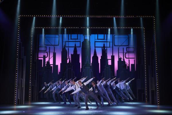 Stian Blipp i spissen for Broadway Rythm . Foto John Andresen