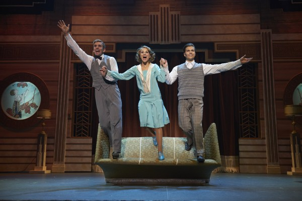 Stian Blipp, Charlotte Brænna og Atle Pettersen som Don Katyhy og Cosmo, foto John Andresen