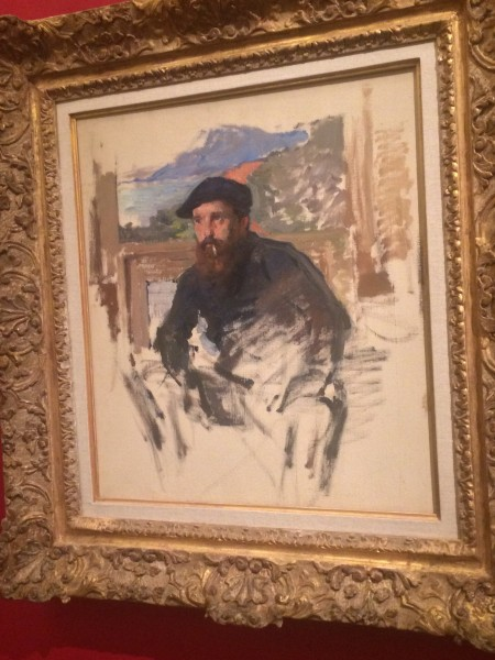 Claude Monet, Self portrait