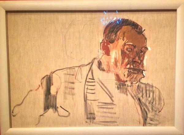 Ferdinand Hodler selvportrett 1914.
