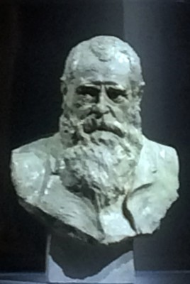 Claude Monet , bust in the Musée Monet Marmottan. Foto Henning Høholt