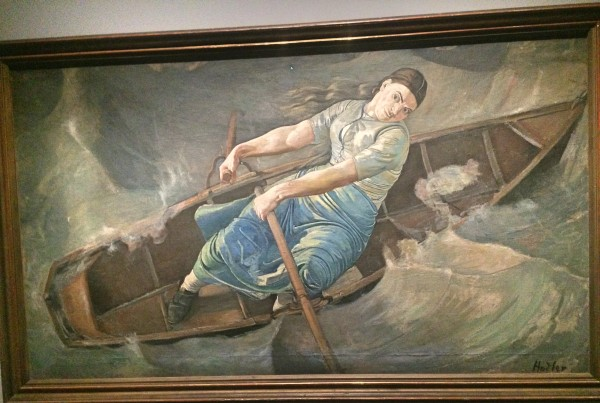 Ferdinand Hodler: La Femme Courage 1886.