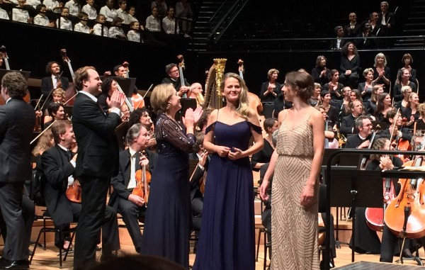 Applaus to the choices, from right Hanna-ELisabeth Müller, Mari Eriksmoen, bernarda Fink, Andrew Staples. Foto Tomas Bagackas.