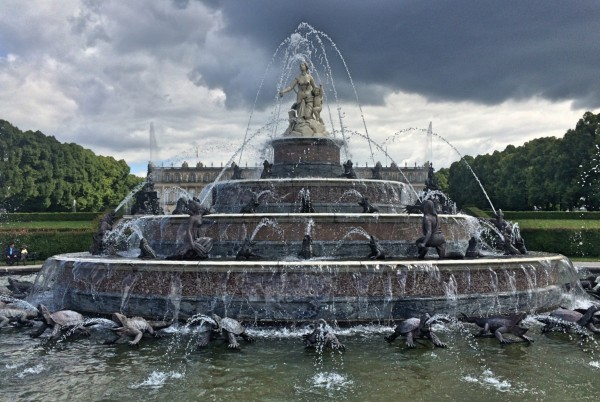 Latona Fountain 1883 by Johann Nepomuk Hautmann,is a copy at the same name in Versailles. Foto Tomas Bagackas.