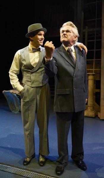 """Stian Blipp og Nils Vogt -  """" I am the boss"""". Foto John Andresen."""