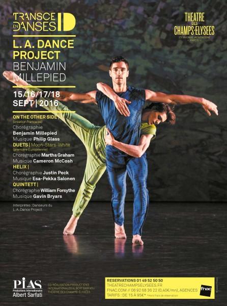 DANCE PROJECT Benjamin MILLEPIED. Poster