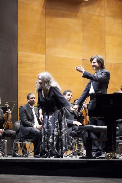 Argerich and Castro, Florence, Foto Michele Borzoni