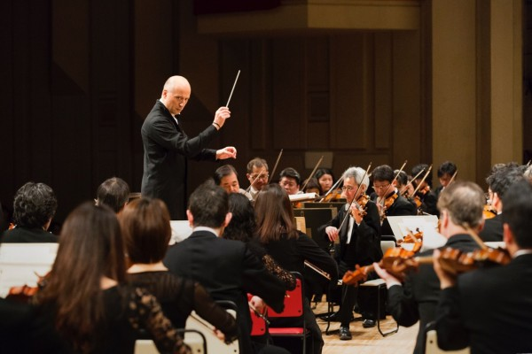 NHK Symphony Orchestra extends its contract with Paavo Järvi until August 2021, Foto Takashi Mochizuki. NHK-Symphony-Orch.