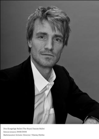 Nikolaj Hübbe fortsetter som balletmester i København frem til 2020. Foto fra Den Kongelige Ballet.